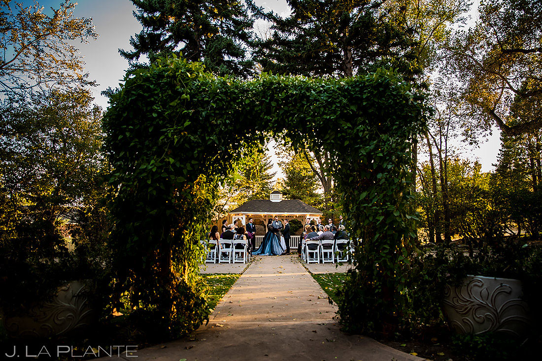 Fort Collins Wedding Ceremony | Tapestry House Wedding | Fort Collins Wedding Photographer | J. La Plante Photo