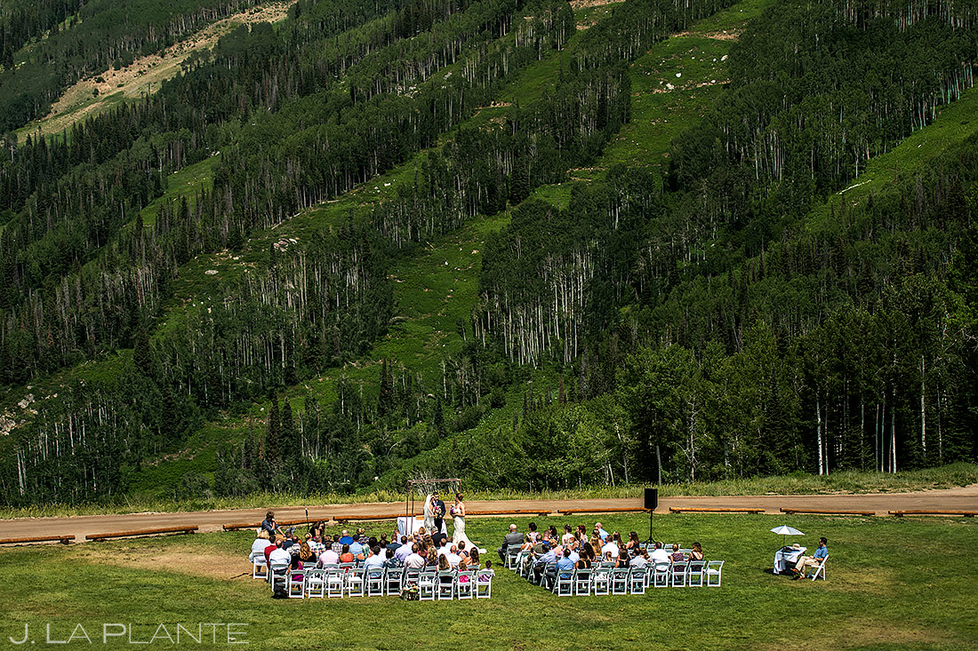 Unique Mountain Wedding Ceremony | Thunderhead Lodge Wedding | Steamboat Springs Wedding Photographer | J. La Plante Photo