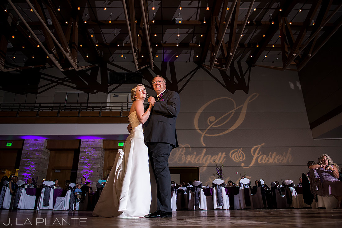 Father Daughter Dance | Wildlife Experience Wedding | Denver Wedding Photographer | J. La Plante Photo