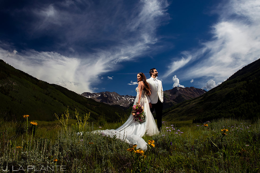 Unique Wedding Photo Ideas | Pine Creek Cookhouse Wedding | Aspen Wedding Photographer | J. La Plante Photo