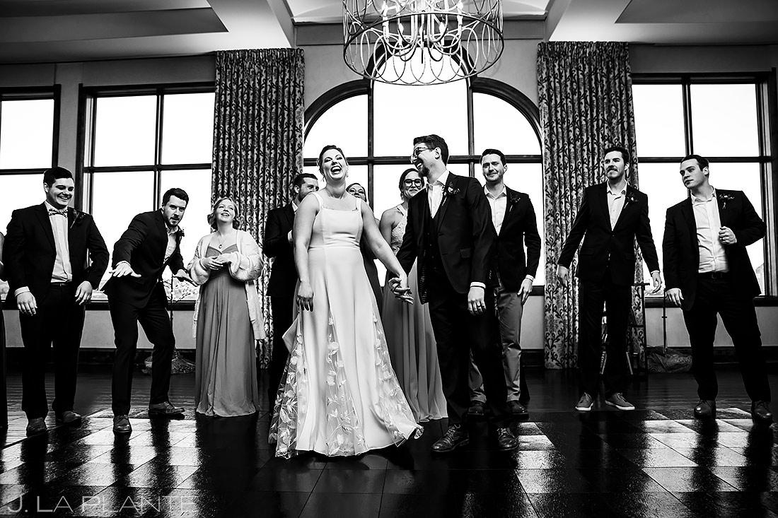 Wedding Party Photo   Pinery at the Hill Wedding   Colorado Springs Wedding Photographer   J. La Plante Photo