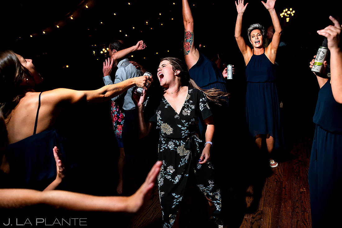 Wedding Reception Dance Party | Lionsgate Wedding | Boulder Wedding Photographer | J. La Plante Photo