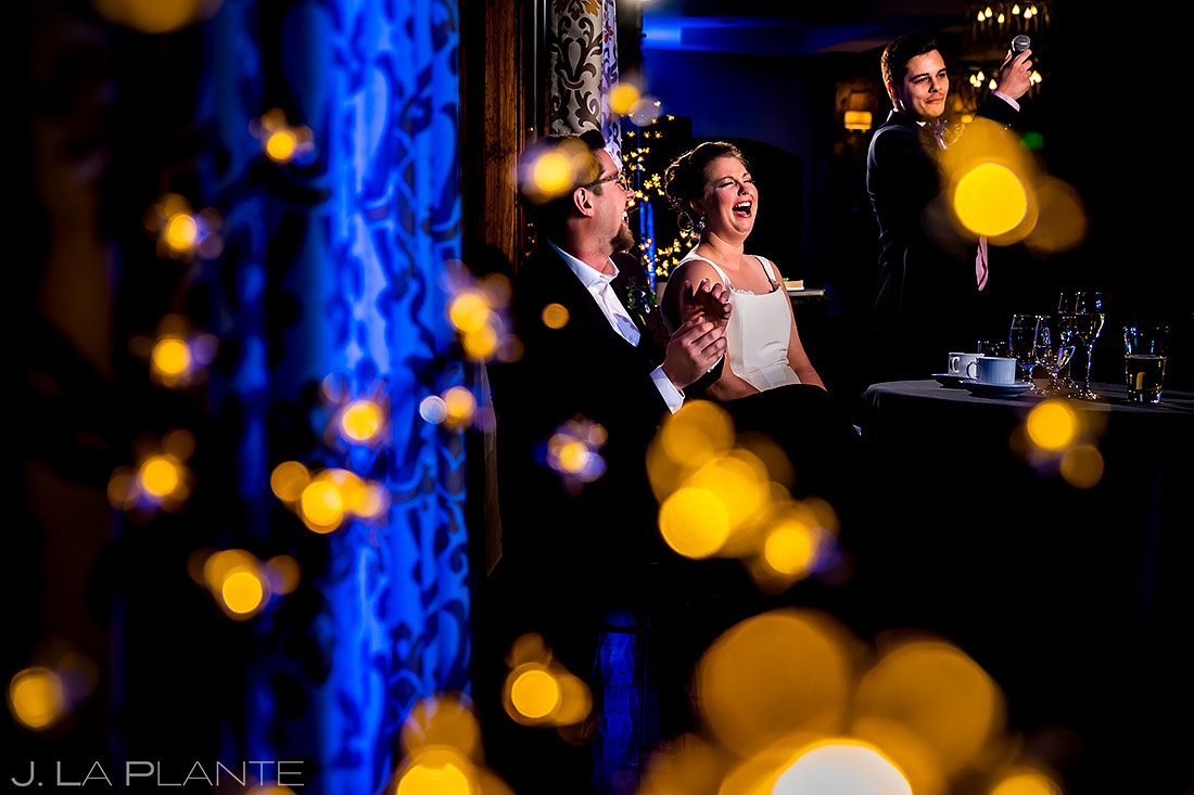 Wedding Toasts | Urban Wedding | Colorado Springs Wedding Photographer | J. La Plante Photo