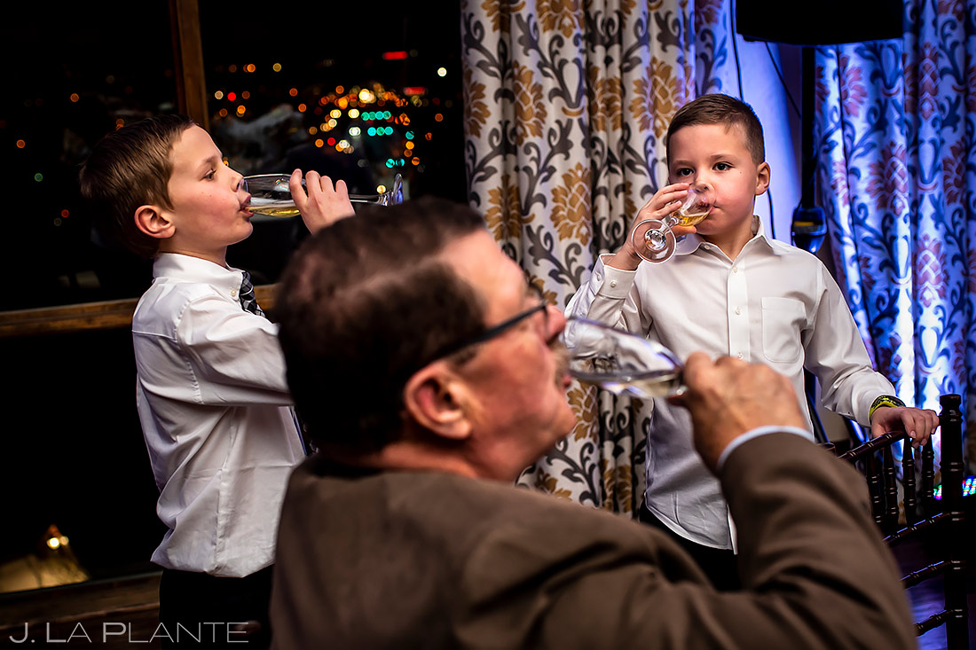 Cute Kids at Weddings | Urban Wedding | Colorado Springs Wedding Photographer | J. La Plante Photo