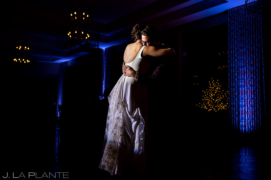 Bride and Groom First Dance | Pinery at the Hill Wedding | Colorado Springs Wedding Photographer | J. La Plante Photo