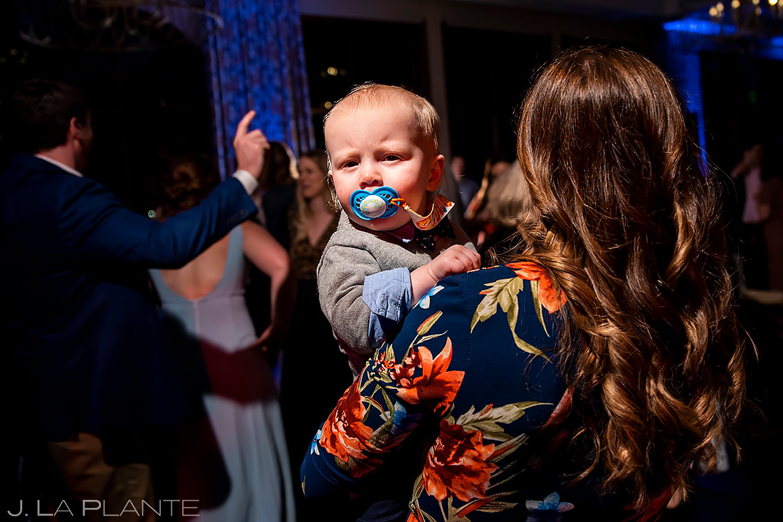 Funny Kids at Weddings | Pinery at the Hill Wedding | Colorado Springs Wedding Photographer | J. La Plante Photo
