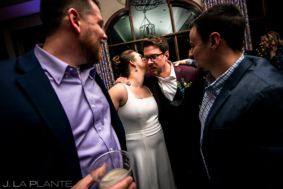 Wedding Reception Dance Party | Pinery at the Hill Wedding | Colorado Springs Wedding Photographer | J. La Plante Photo