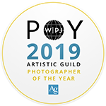 2019 photographer of the year from the wedding photojournalism association's artistic guild