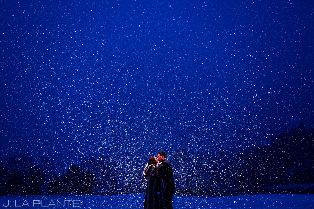 Snowy Mountain Wedding | Evergreen Lake House Wedding | Evergreen Wedding Photographer | J. La Plante Photo