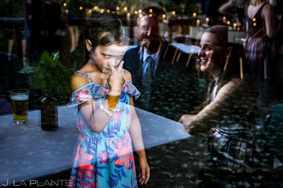 Dao House wedding funny wedding kids | Estes Park wedding photographer