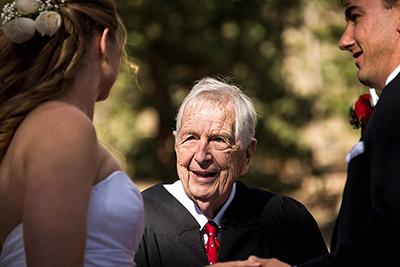 della terra wedding officiant