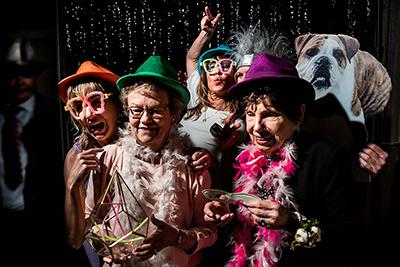 stanley hotel wedding photo booth | estes park wedding photographer