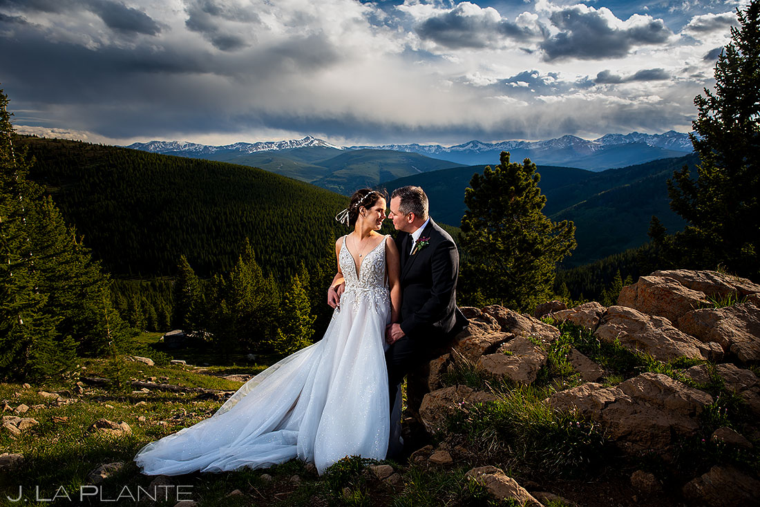 bride and groom portrait | colorado wedding photographers