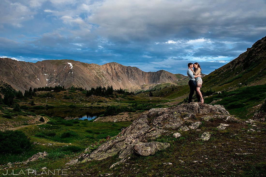 loveland pass engagement session engagement photo inspiration